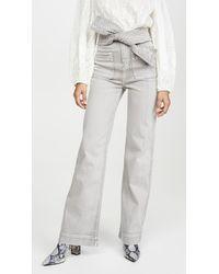 Ulla Johnson Wade Jeans - Grey