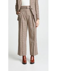Edition10 - Plaid Trousers - Lyst