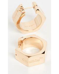 Off-White c/o Virgil Abloh - Hexnut Earrings - Lyst