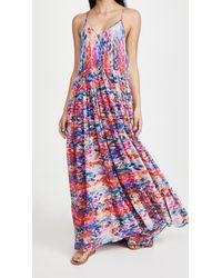 MISA Los Angles Kalita Dress - Multicolour