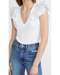 Veronica Beard Cathie Top - White