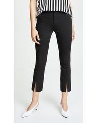 Alice + Olivia - Stacey Slit Front Trousers - Lyst
