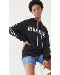 Rodarte Logo Hoodie - Black