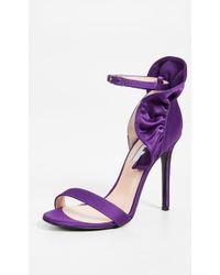 MSGM - Rouche Sandals - Lyst