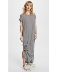 The Great - The Knotted Tee Dress - Lyst