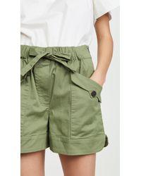 Sea Tula Cargo Shorts - Green