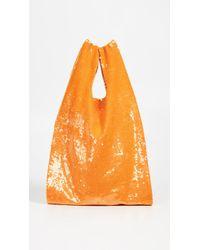 Ashish Sequin Shopper - Orange