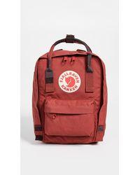Fjallraven Kanken Mini Backpack - Red