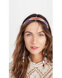 Isabel Marant Headband - Purple