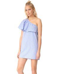 MLM Label - Henri Frill Shoulder Dress - Lyst