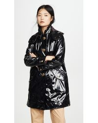 COACH Horse And Carriage Raincoat - Black