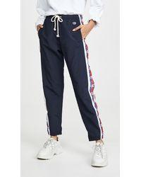 Champion Elastic Cuff Trousers - Blue