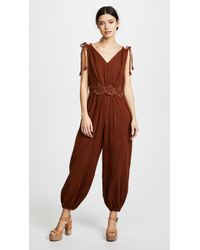 See By Chloé - Embellished Jumpsuit - Lyst