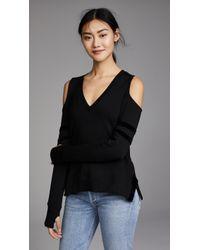 Feel The Piece - Somerville Cold Shoulder Sweatshirt - Lyst