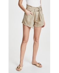 Free People See You Sometime Cutoff Shorts - Natural