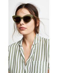 Le Specs Beautiful Stranger Sunglasses - Brown