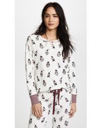 Pj Salvage - Cool For The Winter Pj Top - Lyst