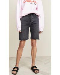 Agolde 90s Shorts - Multicolour