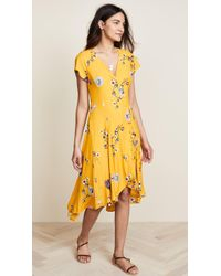 Free People - Lost In You Midi Dress - Lyst