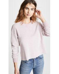 Splendid - Plush Active Sweatshirt - Lyst