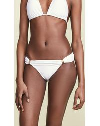ViX Bia Tube Full Bikini Bottoms - White