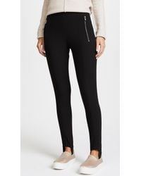 Whistles - Zip Front Stirrup Trousers - Lyst