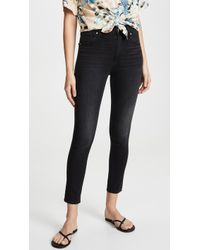 Levi's 721 High Rise Skinny Ankle Jeans - Black