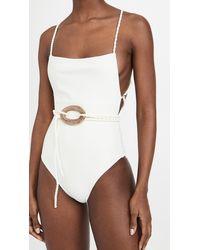 Shani Shemer Vanilla Bella One Piece Swimsuit - White