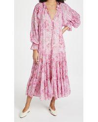 Free People Feeling Groovy Maxi Dress - Pink