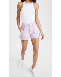 Veronica Beard Jaylen Notch Shorts - Multicolour