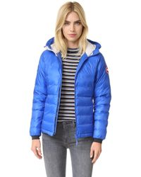 Canada Goose | Camp Hooded Quilted Shell Down Jacket | Lyst