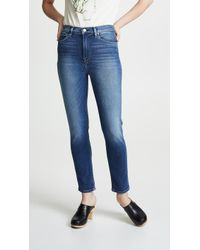 Hudson Jeans - Holly Super Crop Skinny Jeans - Lyst