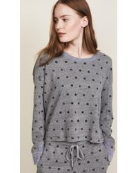Splendid - Paint Dot Sweatshirt - Lyst