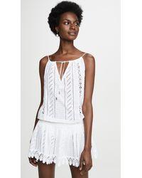 Melissa Odabash Chelsea Cover Up Dress - White