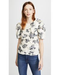 Sea - Josephine Ruched Blouse - Lyst