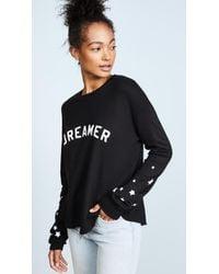 Spiritual Gangster - Dreamer Cropped Sweatshirt - Lyst