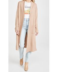 Line & Dot Victoria Duster Cardigan - Natural