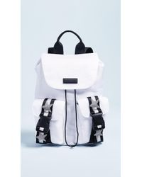 Kendall + Kylie Ashley Backpack - White