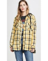 Free People Calico Basin Plaid Button Down - Multicolour