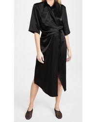 Nanushka Lais Dress - Black