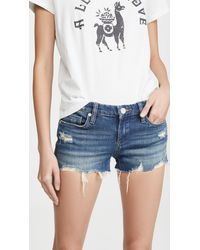 Blank NYC Shake It Out Shorts - Blue