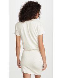Monrow Super Soft Dress - White