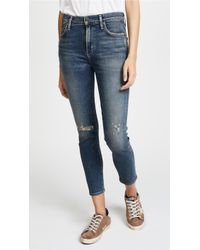 Citizens of Humanity - Rocket Crop Jeans - Lyst