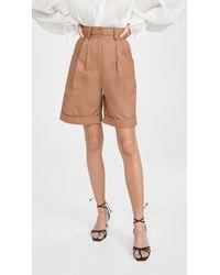Aje. Parity Shorts - Natural