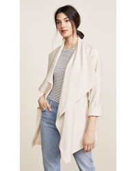 SOIA & KYO - Shannyn Draped Coat - Lyst