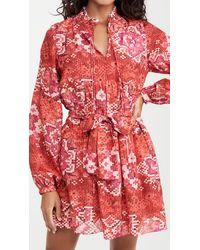 Chufy Lidia Mini Dress - Red