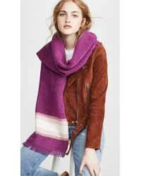 LoveShackFancy Eddie Scarf - Purple