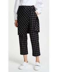 Robert Rodriguez - Skirted Trousers - Lyst