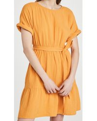 Xirena Aiden Dress - Orange