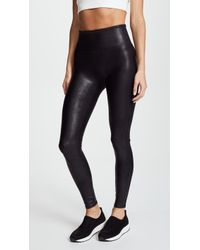 Spanx Ready-to-wowtm Faux-leather Leggings - Black